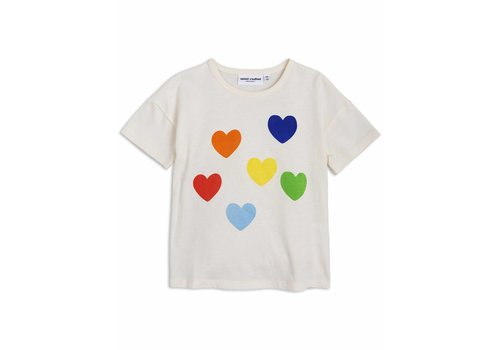 Mini Rodini Mini rodini T-shirt rainbow love