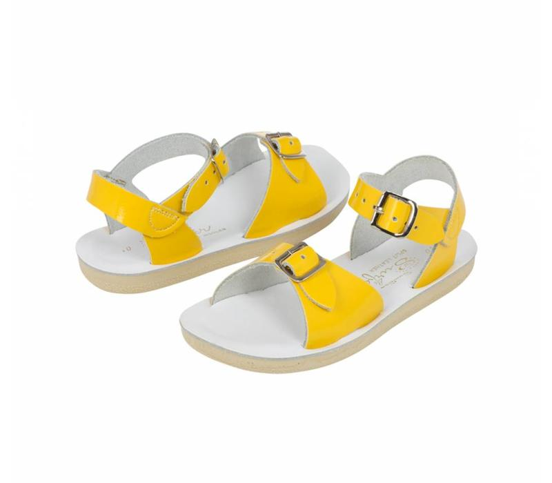 Salt water sandals Surfer - yellow