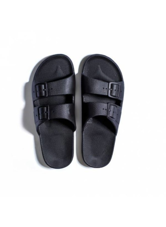 Freedom moses slippers black