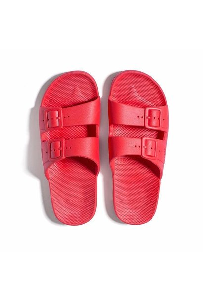 Freedom moses slippers red