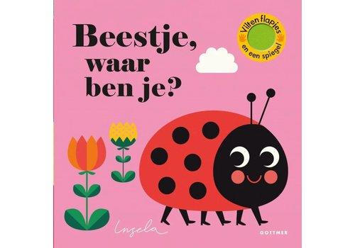 """Uitgever Gottmer Boek """"Beestje waar ben je?"""""""