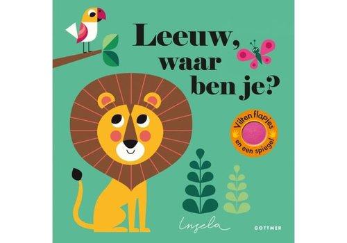 """Uitgever Gottmer Boek """"Leeuw waar ben je?"""""""