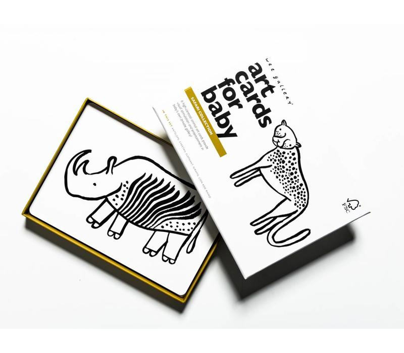 Wee Gallery Art Cards Safari