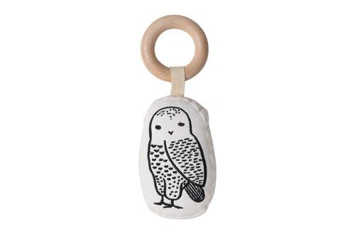 Wee gallery Wee Gallery Rattle Owl