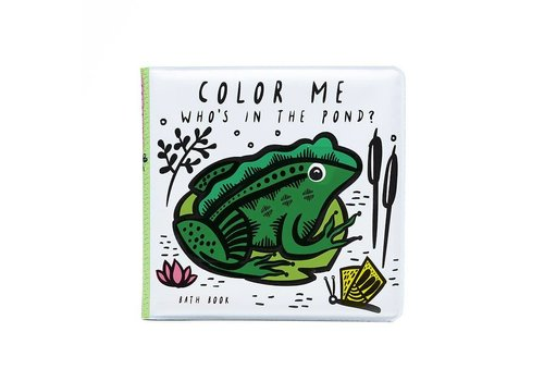 Wee gallery Wee Gallery Bath Book Color Me Pond