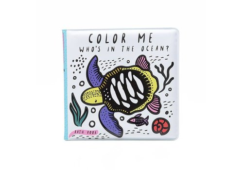 Wee gallery Wee Gallery Bath Book Color Me Ocean