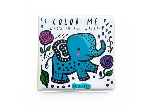 Wee gallery Wee Gallery Bath Book Color Me Water