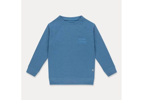Repose Ams Repose AMS classic sweater vague bleuish