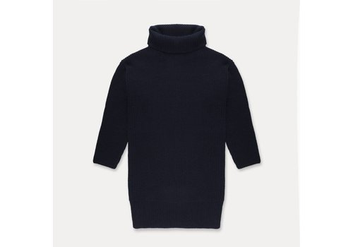 Repose AMS Repose AMS Knit cowl sweater dark blue