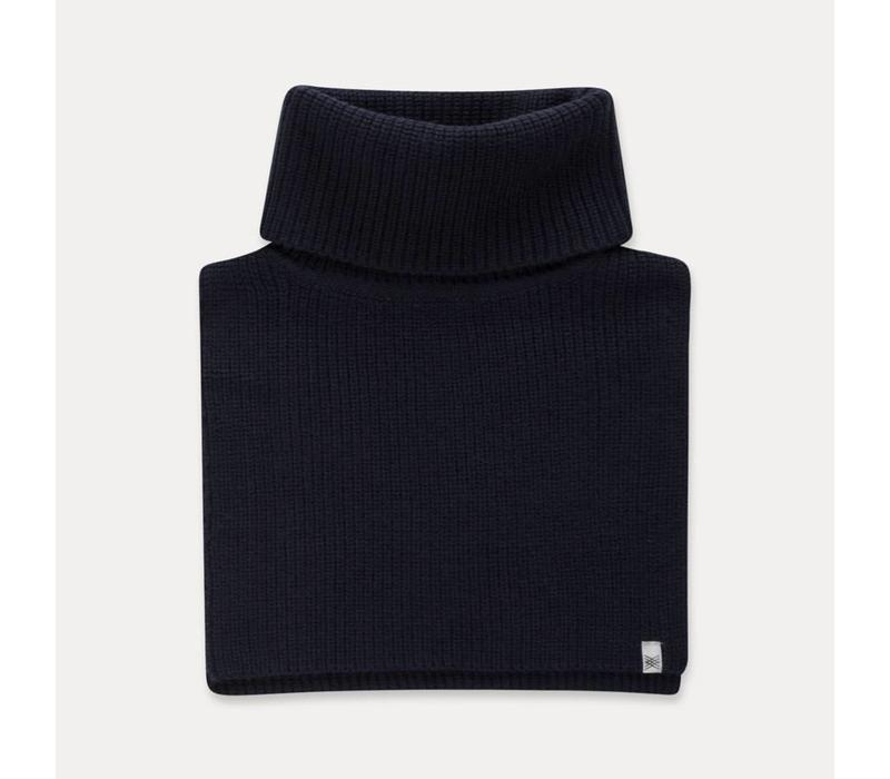 Repose AMS Knitted cowl scarf classic blue