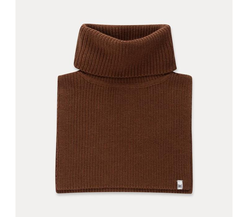 Repose AMS Knitted cowl scarf washed cedar