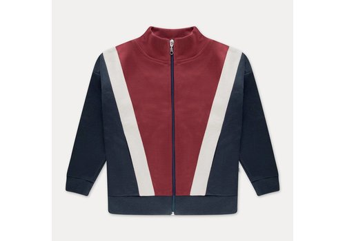Repose AMS Repose AMS Track jacket weathered berry color block