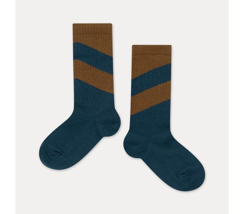 Repose AMS Socks vague blueish diagonal