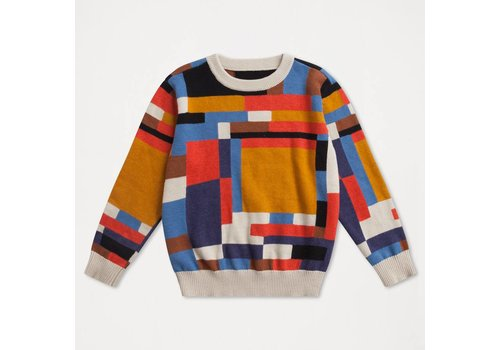 Repose Ams Repose AMS Knit sweater color block