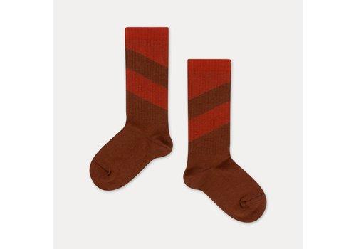 Repose AMS Repose AMS Socks warm pecan diagonal