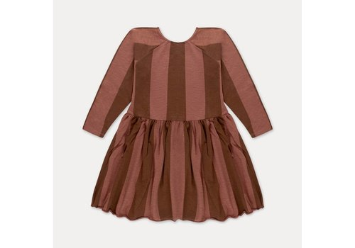 Repose AMS Repose AMS Skater dress gold block stripe