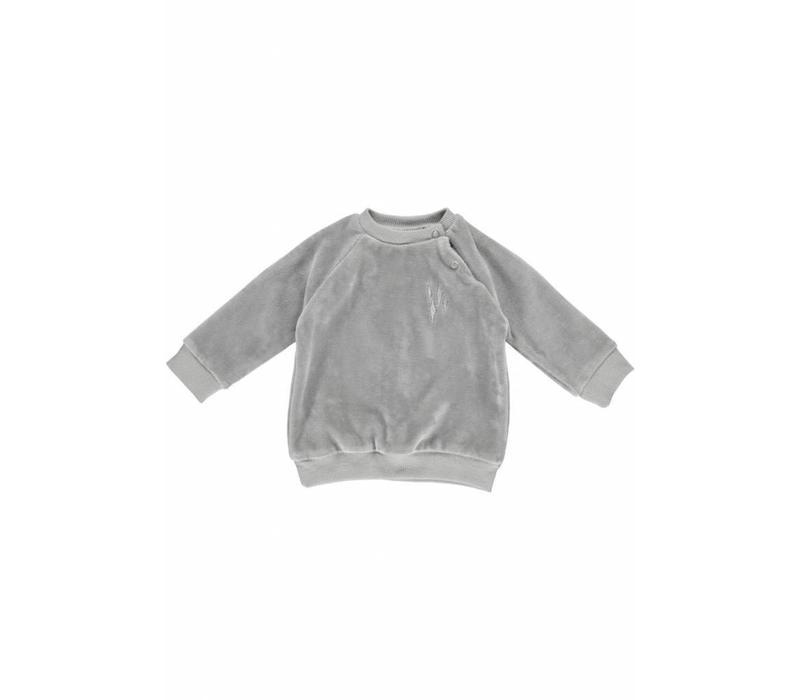 GRO Company sweater baby velvet grey