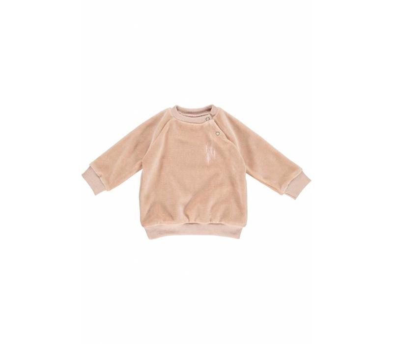 GRO Company sweater baby velvet mud