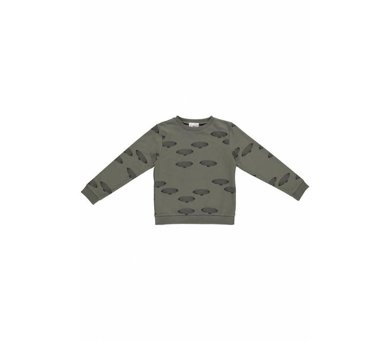 GRO Company sweater airship army