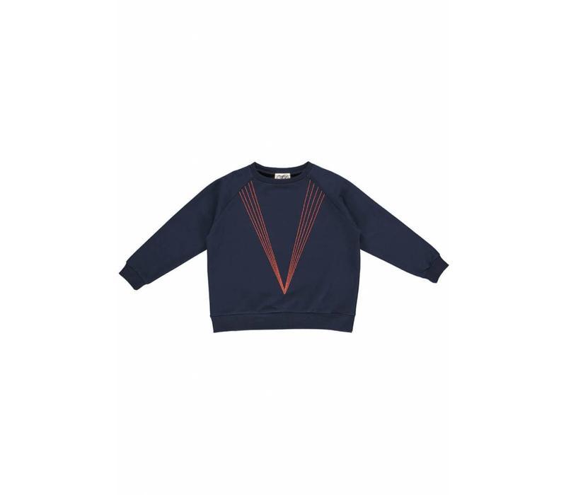 GRO Company sweater classic navy