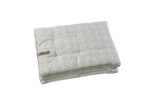 Mies & Co Mies & Co boxkleed cozy dots off white 80 x 100