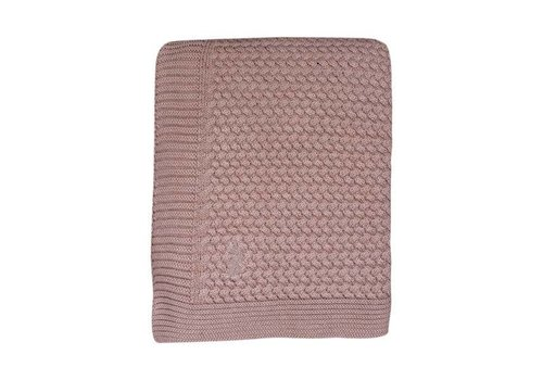 Mies & Co Mies & Co Soft knitted ledikant deken Pale Pink