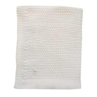 Mies & Co Soft knitted ledikant deken Offwhite