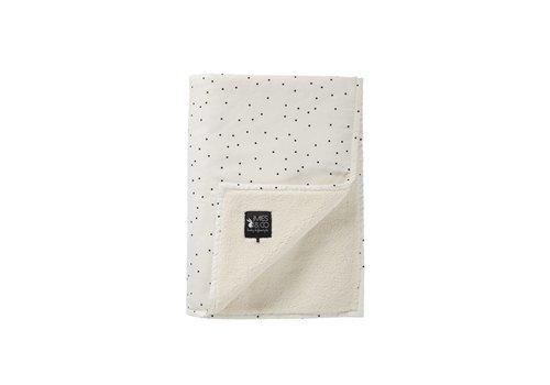 Mies & Co Mies & Co Soft teddy wieg deken Adorable dot