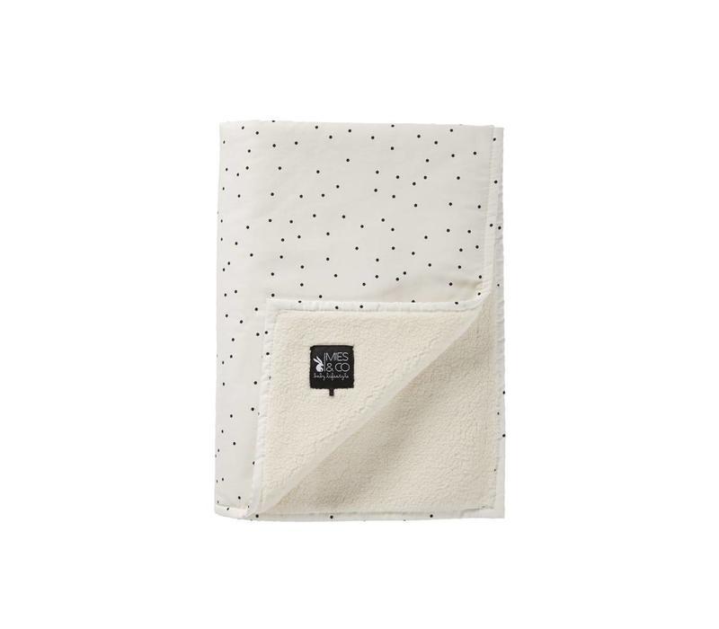 Mies & Co Soft teddy wieg deken Adorable dot