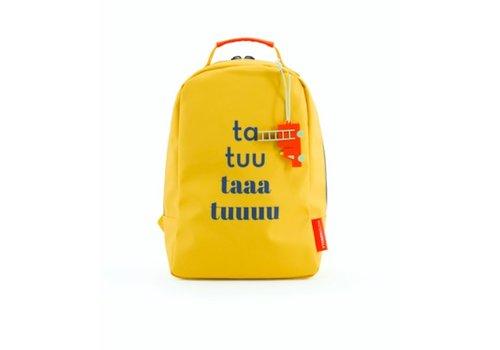 Mister gorilla Mister gorilla mini backpack taa tuu geel