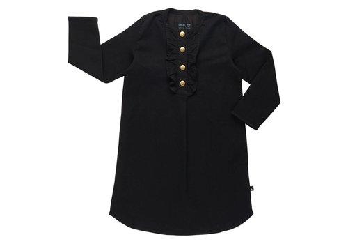 CarlijnQ CarlijnQ Tunic dress black denim