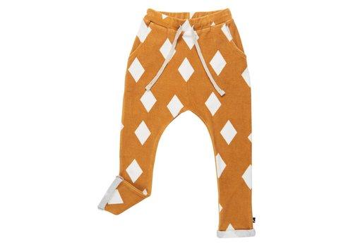 CarlijnQ CarlijnQ Pocket sweatpants diamond ochrre