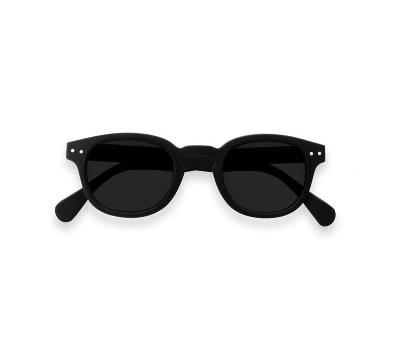 Izipizi zonnebril #C black soft grey