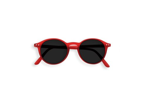 Izipizi Izipizi zonnebril junior #D red crystal soft