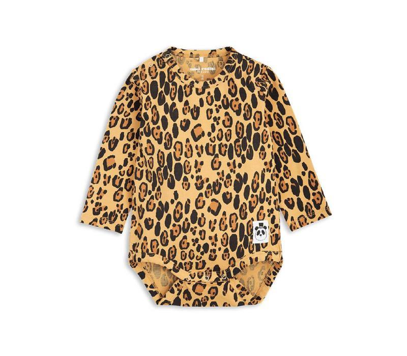 Mini Rodini Leopard body ls