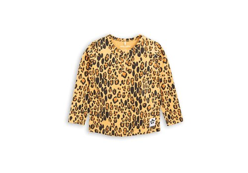 Mini Rodini Mini Rodini longsleeve leopard grandpa