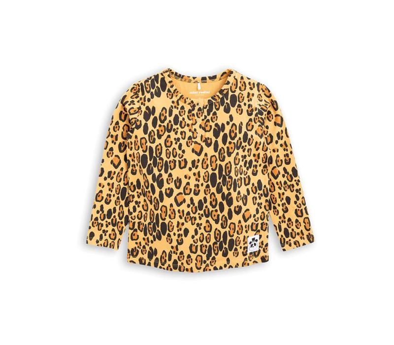 Mini Rodini longsleeve leopard grandpa