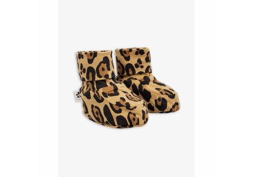 Mini Rodini Mini Rodini Slofjes leopard
