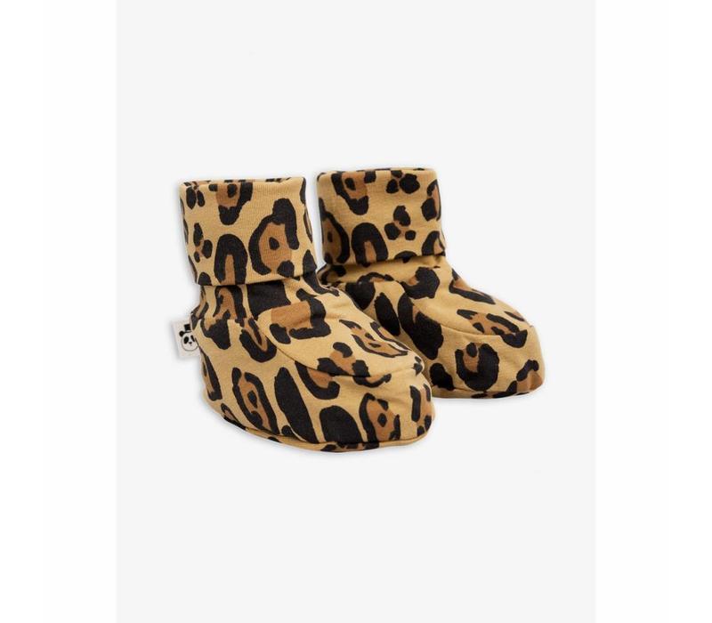Mini Rodini Slofjes leopard