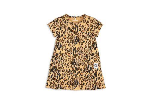 Mini Rodini Mini Rodini Leopard dress