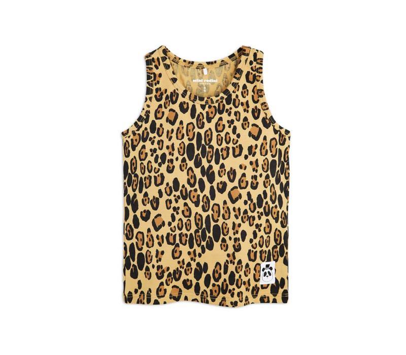 Mini Rodini leopard tank top