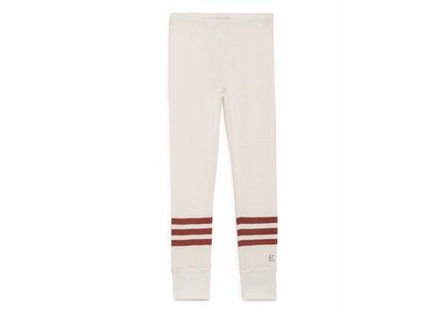 Bobo Choses Bobo Choses Legging white/red stripes