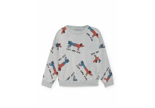 Bobo Choses Bobo Choses Sweatshirt cats and dogs