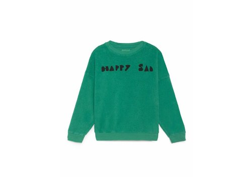 Bobo Choses Bobo Choses Sweatshirt happy sad full sheep skin fleece