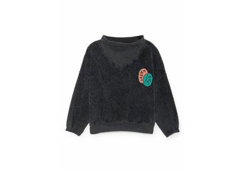 Bobo Choses Bobo Choses Sweatshirt happy sad rib collar