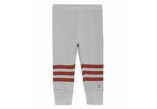 Bobo Choses Bobo Choses Leggings grey/red stripes