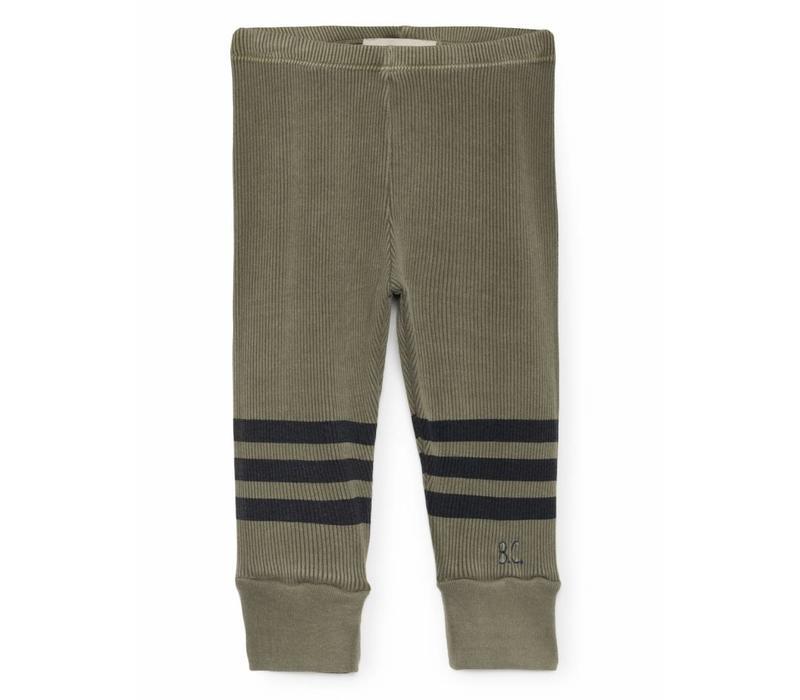 Bobo Choses Legging blue stripes
