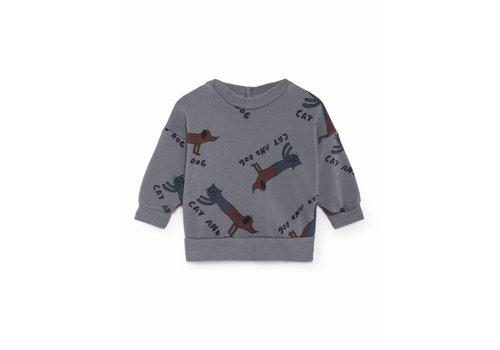 Bobo Choses Bobo Choses Sweatshirt cats and dogs aop