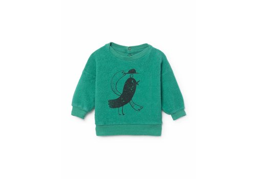Bobo Choses Bobo Choses Sweatshirt bird sheepskin fleece