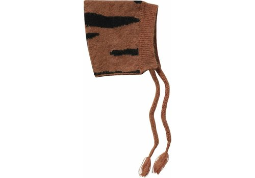 Maed for mini Maed for mini Baby hat brown tiger